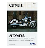 Clymer Manual Honda VT750 Shadow Chain Drive 1998-2006