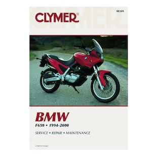 Clymer Manual BMW F650 1994-2000 Clymer motorcycle repair manuals are written specifically for the do-it-yourself enthusiast. From basic maintenance to troubleshooting to complete overhaul, Clymer manuals provide the information you need. The most important tool in your tool box may be your Clymer manual, get one today. Note: It is always important to consult multiple sources with any questions when attempting to repair your own bike. Breaking things saves neither time or money! Models Covered: BMW F650 (U.S. and U.K. 1997-2000) BMW F650 Funduro (U.K. 1994-1996) BMW F650ST (U.S. 1997) BMW F650 Strada (U.K. 1997-1999) BMW F650 Strada SE (2000)