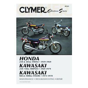 Clymer Manual Vintage Japanese Street Bikes