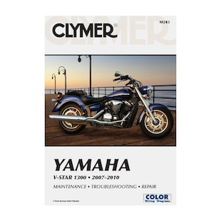 Clymer Manual Yamaha  V Star 1300 2007-2010