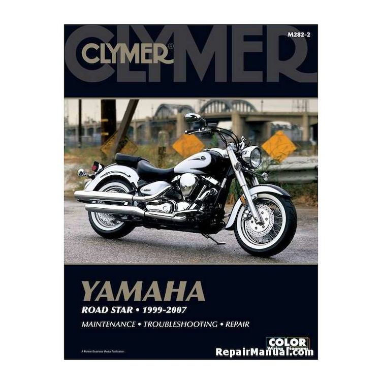 Clymer Manual Yamaha Road Star 1999-2007