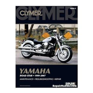 Clymer Manual Yamaha Road Star 1999-2007