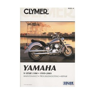 Clymer Manual Yamaha V Star 1100 1999-2009
