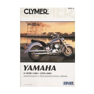 Clymer Manual Yamaha V Star 1100 1999-2009