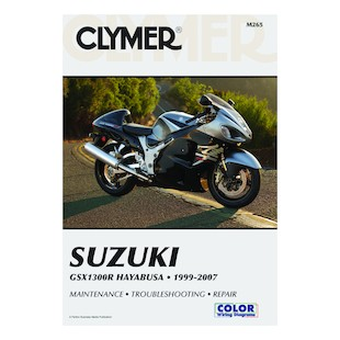 Clymer Manual Suzuki GSX1300R 1999-2007