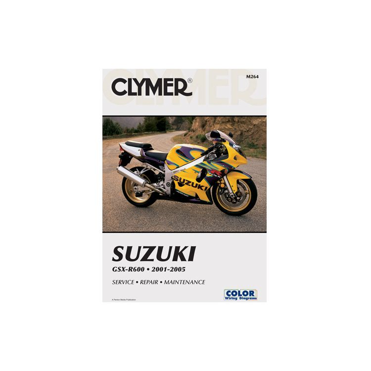 Clymer Manual Suzuki GSX-R600 2001-2005