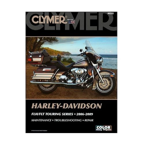 clymer manual harley davidson flf flt touring series 2006 2009 revzilla. Black Bedroom Furniture Sets. Home Design Ideas