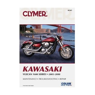Clymer Manual Kawasaki Vulcan 1600 Series 2003-2008