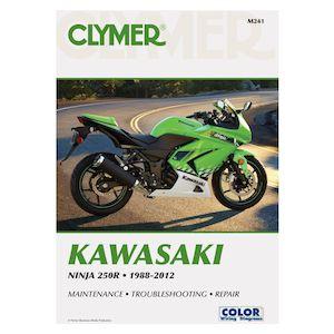 Clymer Manual Kawasaki Ninja 250R 1988-2012
