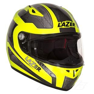 LaZer Kestrel Deep Hi-Viz Helmet