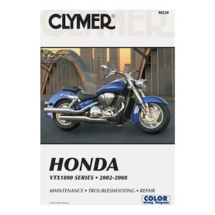 Clymer Manual Honda VTX1800 Series 2002-2008