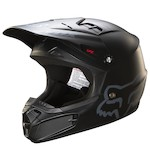 Fox Racing Youth V1 Matte Black Helmet