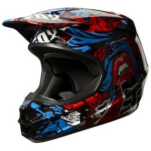 Fox Racing V1 Creepin Helmet