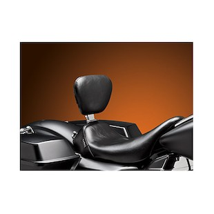 Le Pera Bare Bones Solo Seat With Backrest For Harley Touring 2008-2015