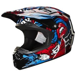 Fox Racing Youth V1 Creepin Helmet