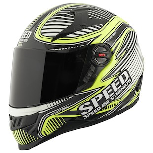 Speed and Strength SS1300 Speed Strong Hi Viz Helmet (Size MD Only)