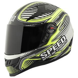 Speed and Strength SS1300 Speed Strong Hi Viz Helmet