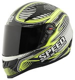 Speed and Strength SS1300 Speed Strong Hi Viz Helmet