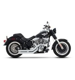 Rinehart Cross Backs Exhaust For Softail 1986-2014