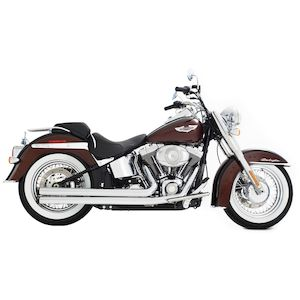 Rinehart 2-Into-2 Churchill Exhaust For Harley Softail 1986-2017