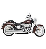 Rinehart Churchill 2-Into-2 Exhaust System For Harley Softail 1986-2014