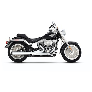 Rinehart 2-Into-1 Exhaust System For Softail 1986-2014