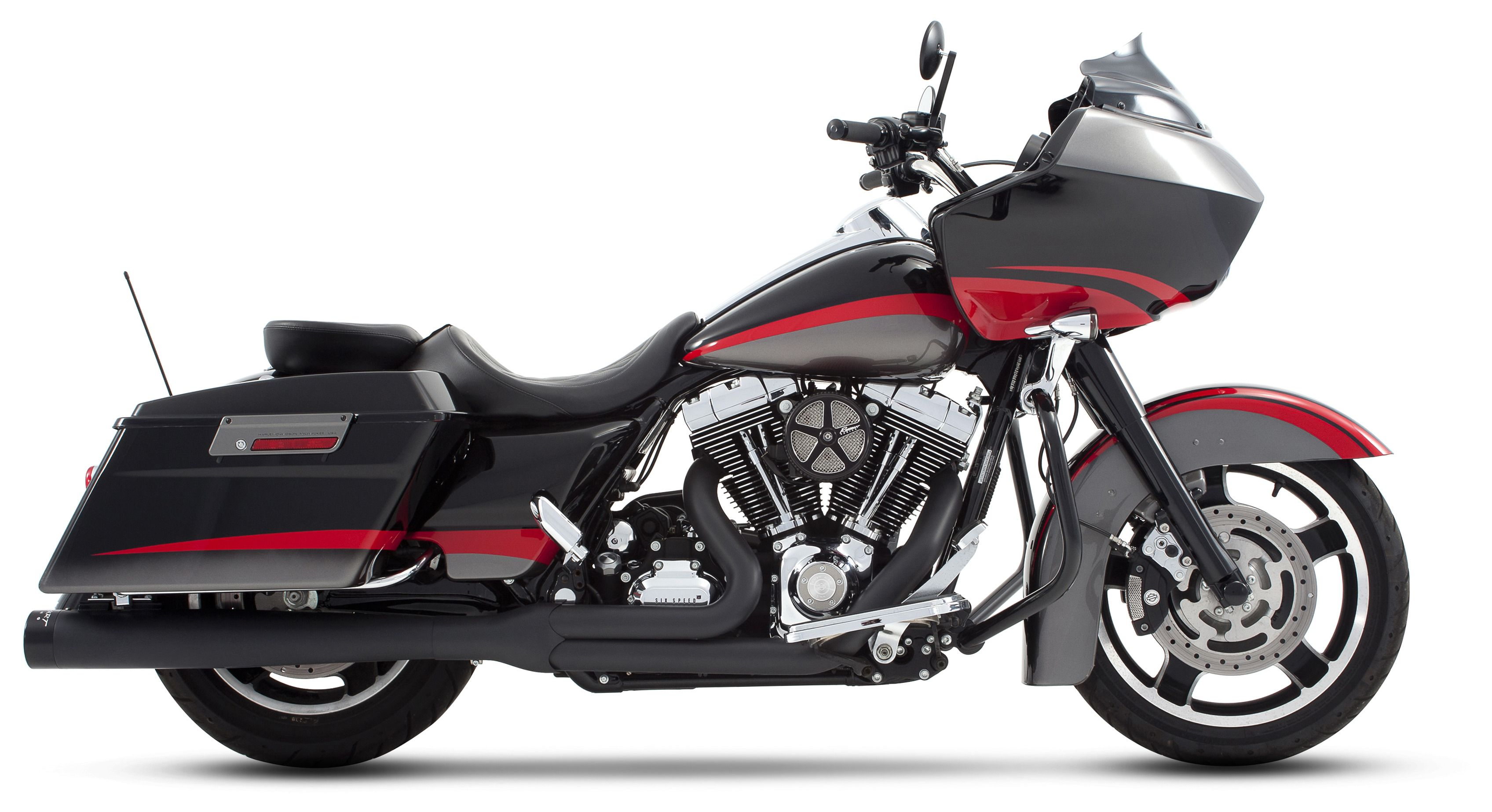 Rinehart 2-Into-1 Exhaust For Harley Touring 2009-2016