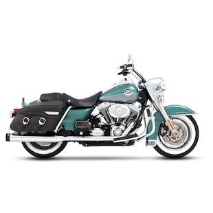 "Rinehart 4"" True Duals Exhaust For Harley Touring 1995-2008"