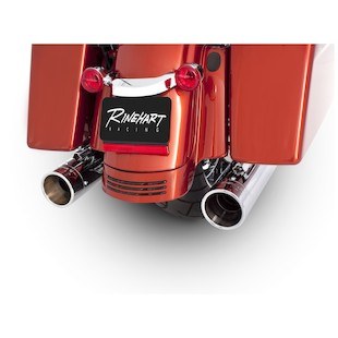 "Rinehart Touring 4"" Slip-On Mufflers For Harley Touring 1995-2015"