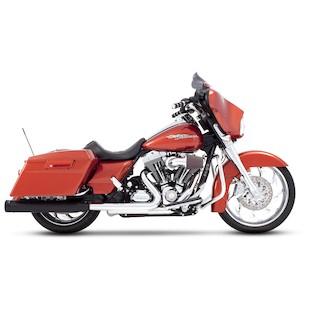 "Rinehart Touring 3 1/2"" Slip-On Mufflers For Harley Touring 1995-2009"