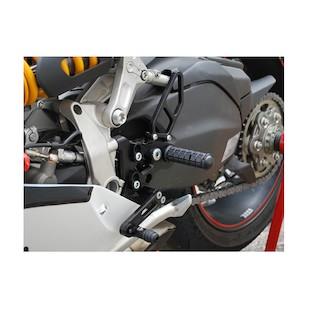 Woodcraft Complete Rearset Kit Ducati 899 / 1199 Panigale