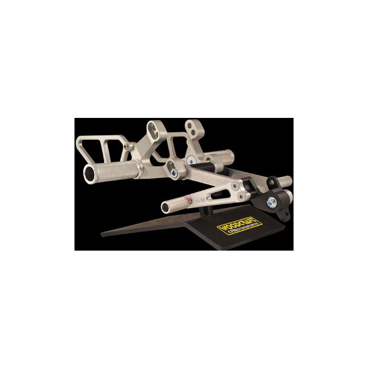 Woodcraft Rearset Kit Ducati 748 / 916 / 996 / 998