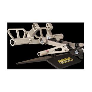 Woodcraft Complete Rearset Kit Ducati 748 / 916 / 996 / 998