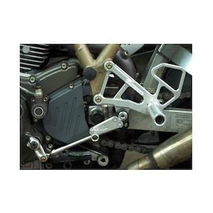 Woodcraft Complete Rearset Kit Ducati 750 / 800 / 900 / 1000SS / Paul Smart