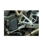 Woodcraft Complete Rearset Kit Ducati 750 / 800 / 900 / 1000SS / Paul Smart