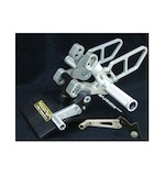 Woodcraft Complete Rearset Kit Ducati 848 / 1098 / 1198