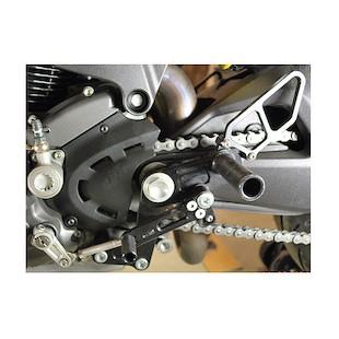 Woodcraft Complete Rearset Kit Ducati Monster 696 / 796 / 1100