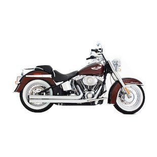 Rinehart Churchill 2-Into-2 Exhaust For Harley Dyna 2006-2015