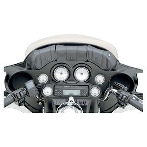 Saddlemen Cruis'n' Deluxe 3-Pocket Windshield Bag For Harley Touring 1996-2013