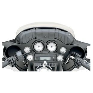 Saddlemen Cruis'n' Deluxe 3-Pocket Windshield Bag For Harley