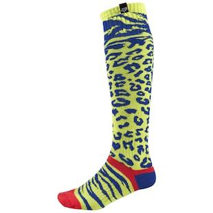 Fox Racing Women's MX Cheetah Socks