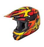 Fly Racing Youth Kinetic Block Out Helmet