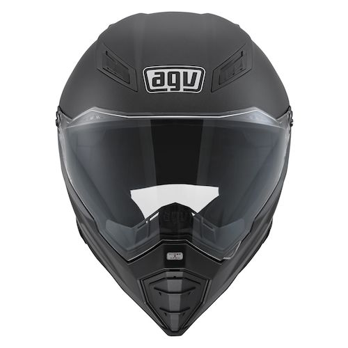 AGV AX-8 Naked Carbon Fury Helmet - RevZilla