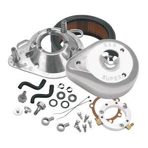 S&S Teardrop Air Cleaner Kit For Harley CV Big Twin 1993-2006