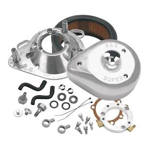 S&S Teardrop Air Cleaner Kit For Harley Big Twin 1993-2016