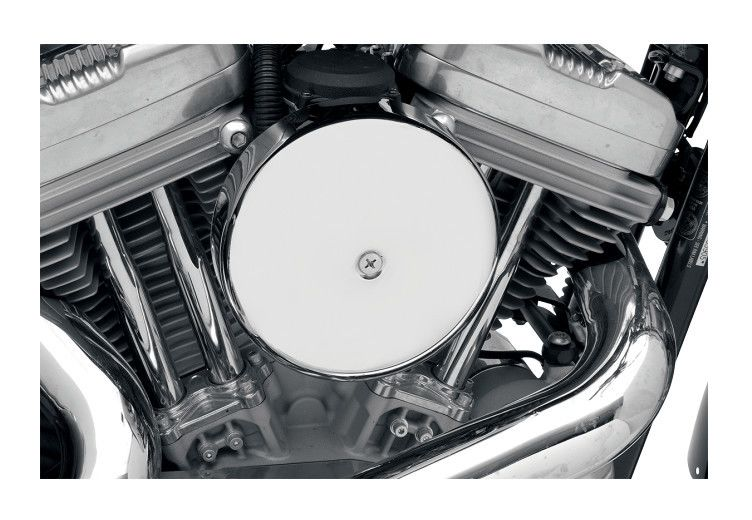 Round Air Cleaners For Tractors : Drag specialties quot round air cleaner for harley