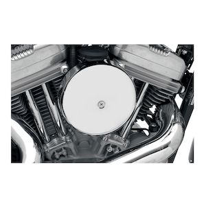 "Drag Specialties 7"" Round Air Cleaner For Harley 1990-2018"