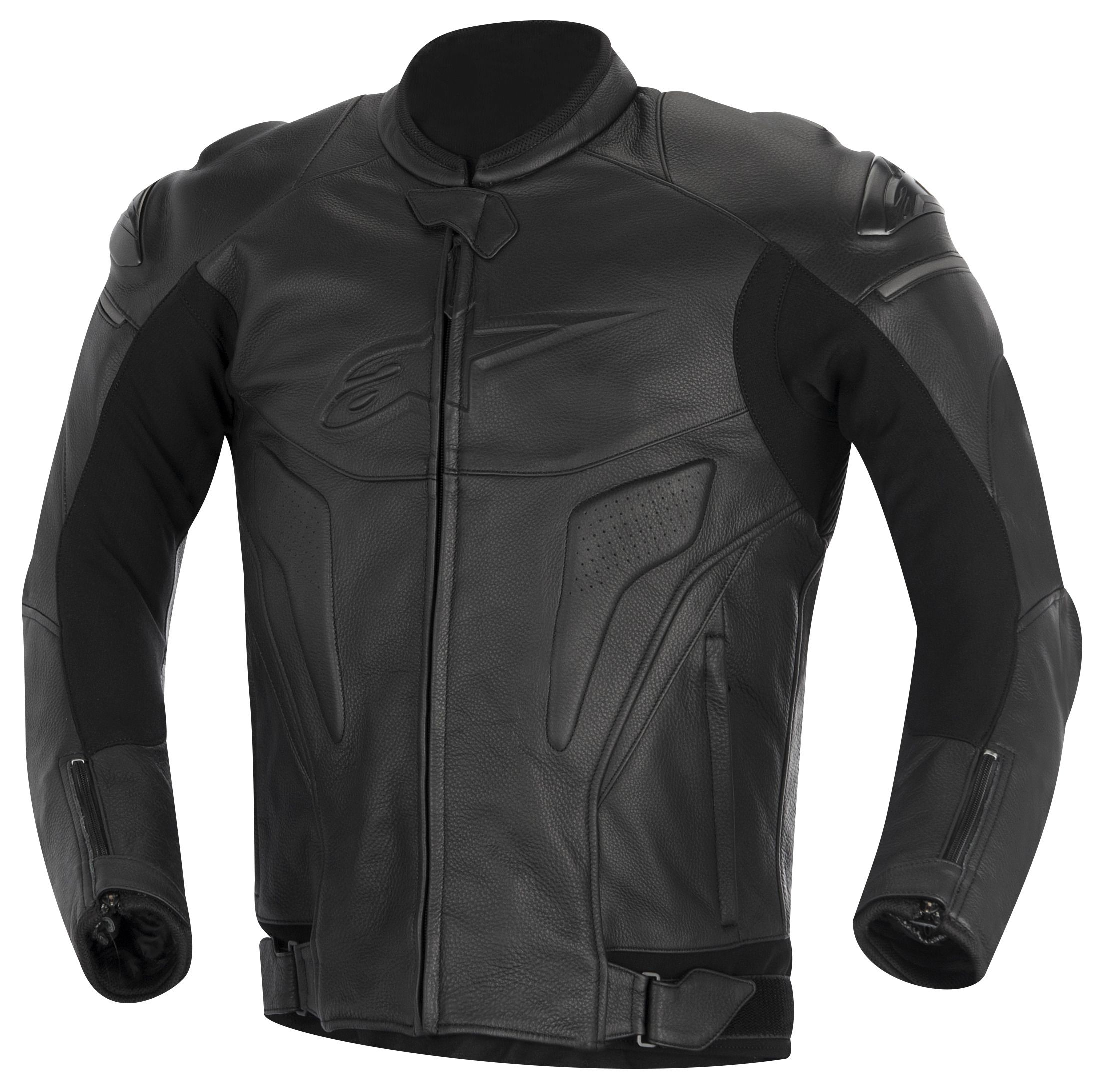 Alpinestars Jacket Leather >> Alpinestars Black Shadow Phantom Jacket - RevZilla