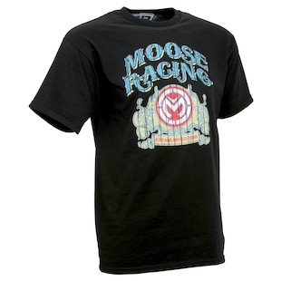 Moose Racing Tavern Sign T-Shirt