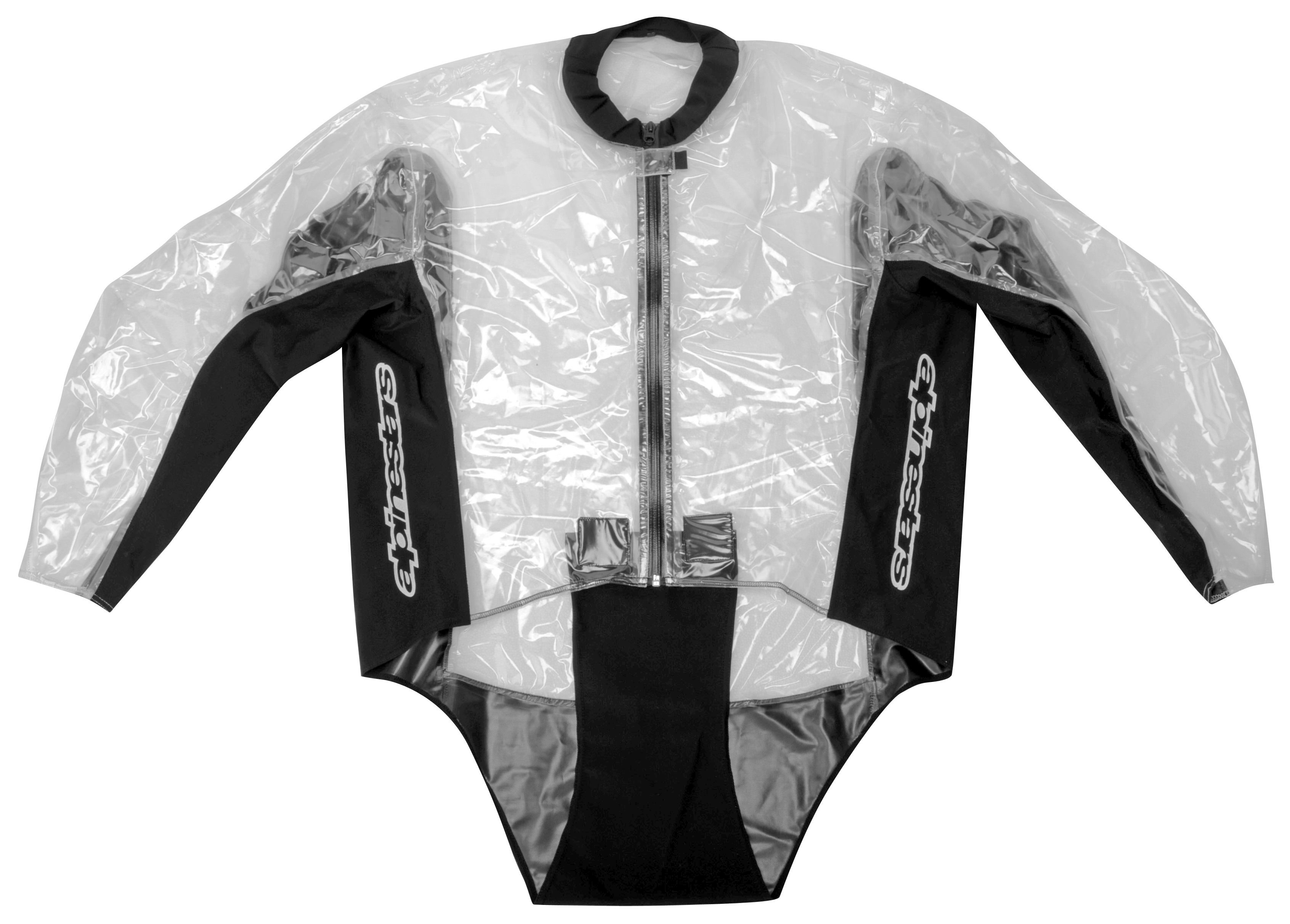 Alpinestars racing rain suit size lg only revzilla for Motor cycle rain gear